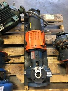 Griswold Stainless Steel Pump S ab 10044 Baldor M3611t Motor Assembly