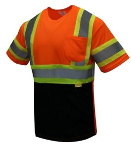 Ny Bfs t5511 2 High visibility Class 3 T Shirt With Moisture Wicking Mesh Birdse