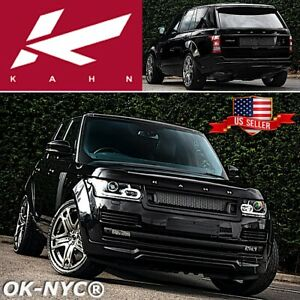 Kahn Design Range Rover Vogue Wide Arch Body Kit Front Lower Spoiler Grille