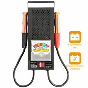 6 12v Car Motorcycle Auto Battery Tester Alternator Load Vehicle Display Tool Us