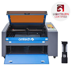 Omtech 60w 24 x16 Co2 Laser Engraver Cutter Engraving Cutting With Rotary Axis
