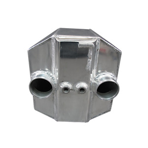 Cxracing 3 5 Inlet Outlet Liquid Water To Air 6 Thick Intercooler 15x13x11