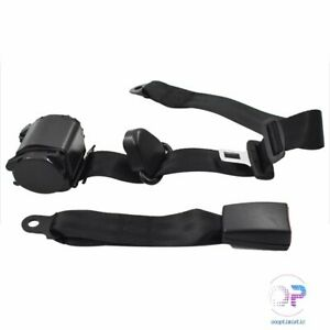For Jeep Cj Yj Wrangler 82 95 Safety Belt Shoulder 3 Point Seat Belt Retractable