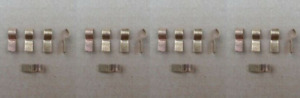 20 Vintage Glass Fuse Taps Fits A B C E Body Plymouth Cuda Charger Road Runner