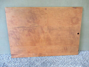 Vintage Bread Dough Pastry Board Primitive 20 X 14 Maple Wood