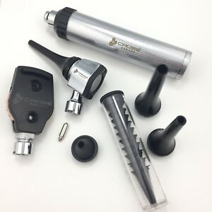 Cross Canada 11 097 Veterinary Led Ophthalmoscope Otoscope Diagnostic Set
