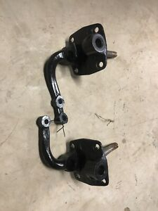 1942 48 Original Ford Spindles Square Back Forged Steel With Steering Arms