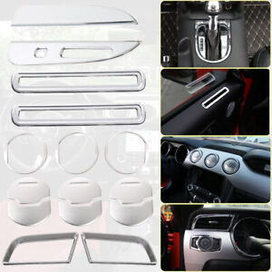 3color Interior Accessories Decor Trim Fit Ford Mustang 2015 2016 2017 2018 15pc
