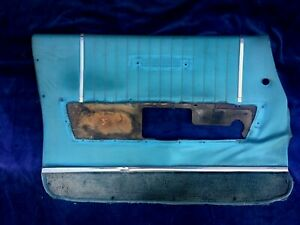 1964 1965 Lincoln Continental Interior Door Panel Driver Front