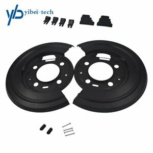 Rear Brake Dust Shield Backing Plates Pair For Ford F 450 F450 Truck 2011 2014