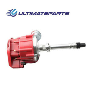 New Red Cap Racing Hei Distributor Super Coil For Chevy Sbc 305 350 400 Pc6001a