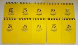 Pack Of 10 Rite In The Rain 135 All weather Notebook 3x5 free Shipping