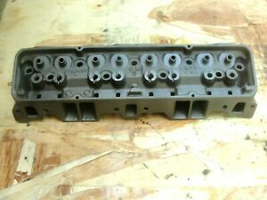 1963 3782461 Original Gm Camel Hump Cylinder Head Small Block Chevy 1 94 1 50