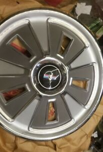 4 Nos New 1966 Ford Mustang Wheel Covers Hubcaps