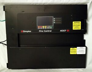 Simplex 4007 Es Fire Alarm Control Panel Display 566 1023