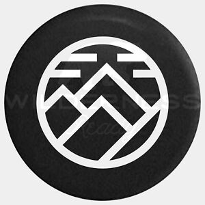 Spare Tire Cover For Jeep Wrangler Camper Rv Jk Tj Yj Nature Mountain