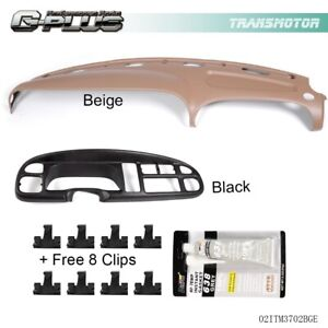 For Dodge Ram 1500 2500 3500 Dash Cover Instrument Panel Cover Combo Kit 98 02