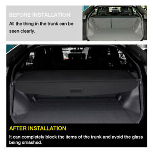 For Toyota Prius 2016 2018 2019 Luggage Cargo Cover Shield Security Trunk Shade