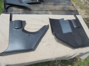 70 74 E Body Cuda Challenger Black Kick Panels