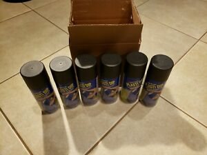 Performix 11203 Plasti Dip Black Aerosol 11 Oz X6 Spray Cans
