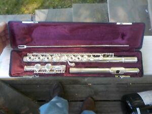 Artley Solid Sterling Silver Flute 108 0 Sterling Silver Head Body Flute