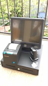 Elo 15 Dual Core 2 2 Ghz All In One Touchscreen Pos Liquor Retail Point Of Sale