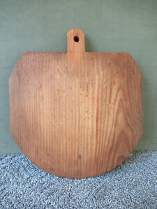 Vintage Bread Board Primitive Country 13 X 11 Wood Cutting Dough Handcrafted