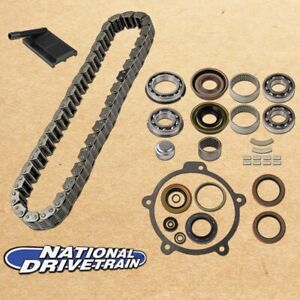 Transfer Case Chain Filter Bearing Rebuild Kit Fits Jeep 94 Np231j