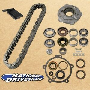 Transfer Case Chain Pump Filter Bearing Rebuild Kit Fits Jeep 94 Np231j