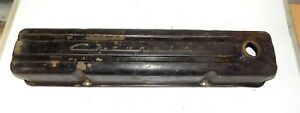 Chevrolet Script 1954 1955 Straight 6 Valve Cover 4 Vent Top Six Cylinder Chevy