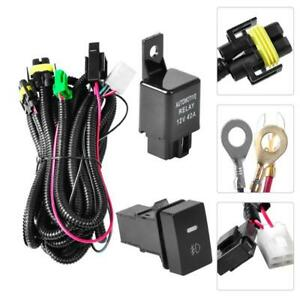 Relay Wiring Harness Switch H11 For Honda Civic 2016 Add On Fog Light Drl Wire