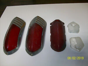 1949 Buick Tail Light Lenses