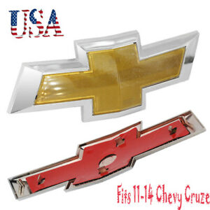 11 14 Chevy Cruze Front Bumper Emblem New Grille Grill Badge Sign Symbol Logo