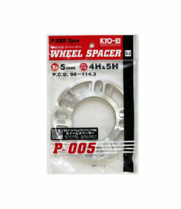 Project Kics Universal Wheel Spacers 5mm Twin Pack W005up