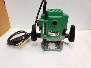Hitachi M8v 1 4 Plunge Variable Speed Router 10 000 25 000 Rpm 7 3 Amp