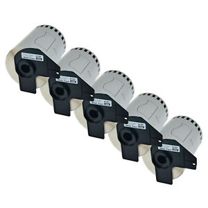 5 Roll Large Shipping Labels For Brother Dk2243 Dk 2243 Ql1050 Ql 1050 4 X 100