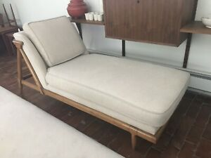 Mid Century Tomlinson Sophisticate Chaise Lounge