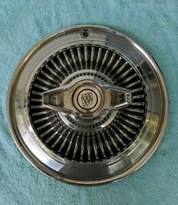 1964 Buick Skylark Spinner Hubcap 14 Inch In Used Condition Single Replacement