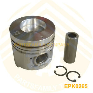 New Engine Piston Kit For Mitsubishi S6sd S6st Turbo Diesel Engine Generator Set