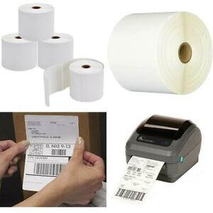 9527 Product 4x6 Direct Thermal Shipping Labels For Zebra 2844 Zp 450 Zp 500 Zp