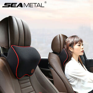 Memory Foam Car Seat Headrest Pad Washable Neck Pillow Head Rest Support Cushion