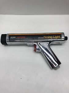 Vintage Sears Craftsman Timing Light Chrome Model 161 2194 No Cables