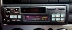 Vintage Classic Alpine 7544r Car Stereo Cd Changer Old School
