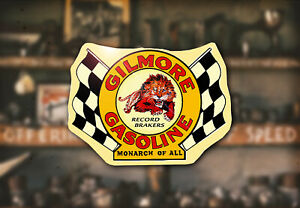 Vintage Gilmore Water Decal Hot Rod Rat Flathead Ford Drag Race Gas Model A T 32