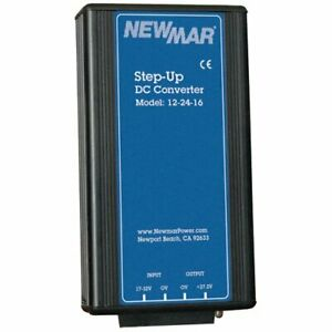 Newmar 12 24 16 Step Up Dc dc Converter 16 Amp Conitnuos