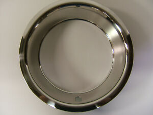 Set Of 4 Nos 15x8 Rally Trim Rings Stainless 3002a