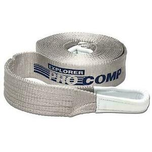 Pro Comp Recovery Tow Strap 2x30 10k Lb Rating