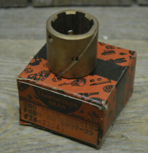 Nos 1937 39 Ford Transmission 2nd Gear Bushing 1939 Trans Hot Rod Scta Flathead