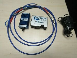Ocean Optics Usb4000 uv vis Spectrometer W Ls 1 ll Qr400 7 vis nir Cable