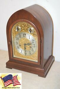 Fully Restored Seth Thomas Grand Antique Westminster Chime Clock No 72 1928